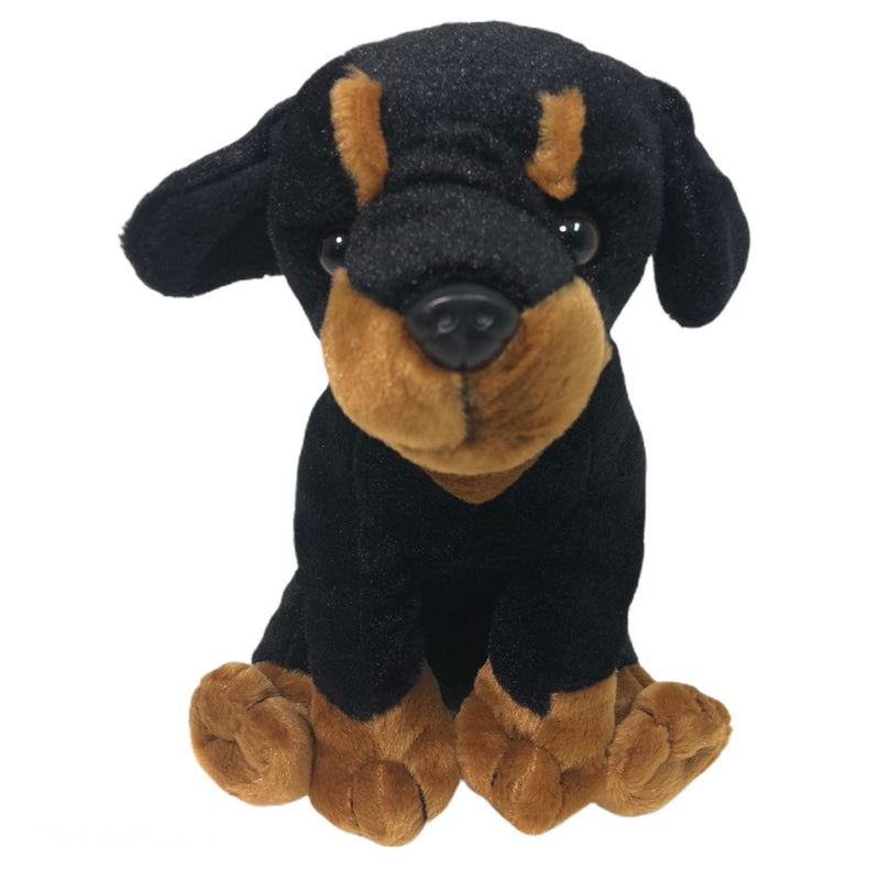 "Anico Rottweiler Dog 9.5"" Stuffed Animal Toy"