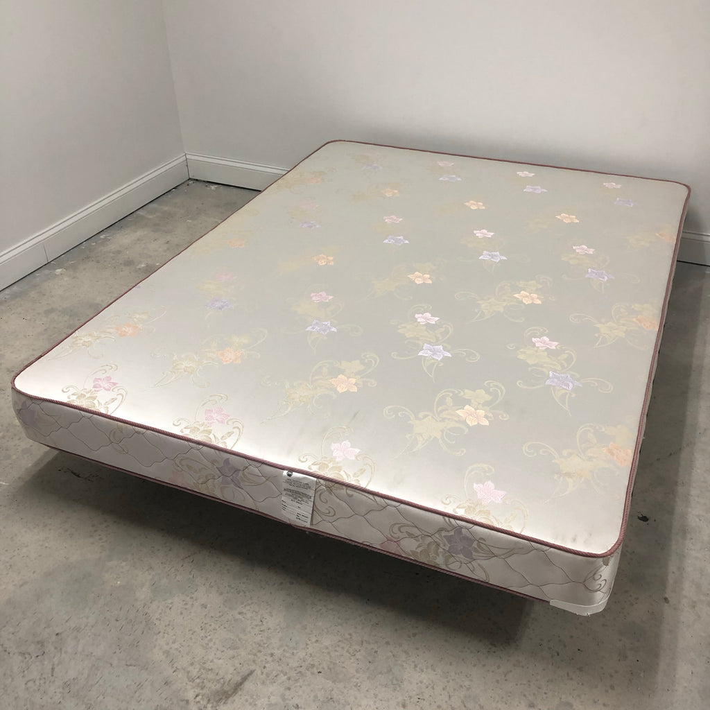 Queen Floral Box Spring