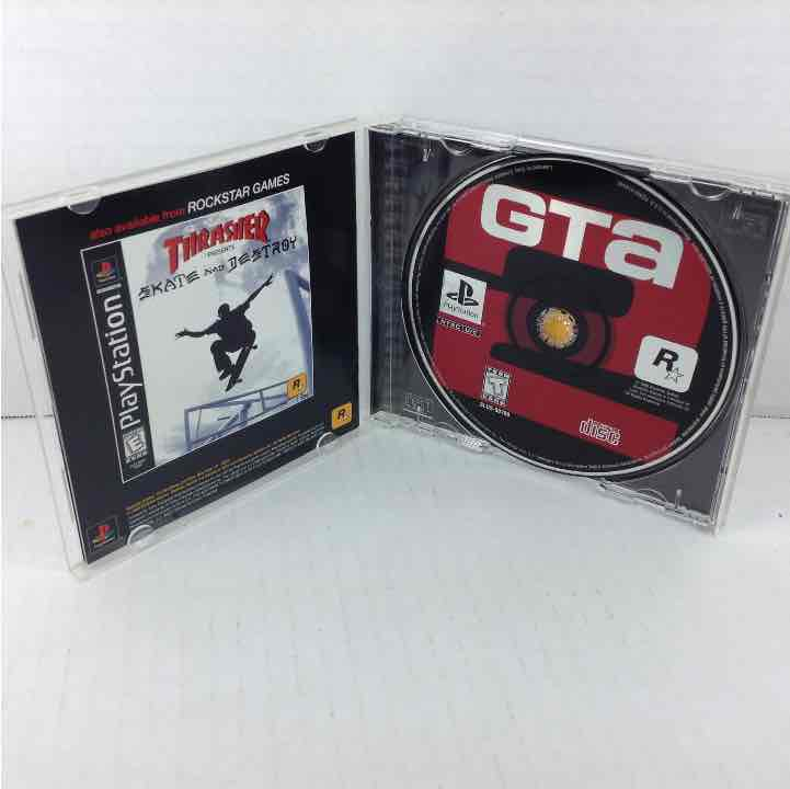 Grand Theft Auto 2 GTA II Black Label Sony PlayStation 1 PS1