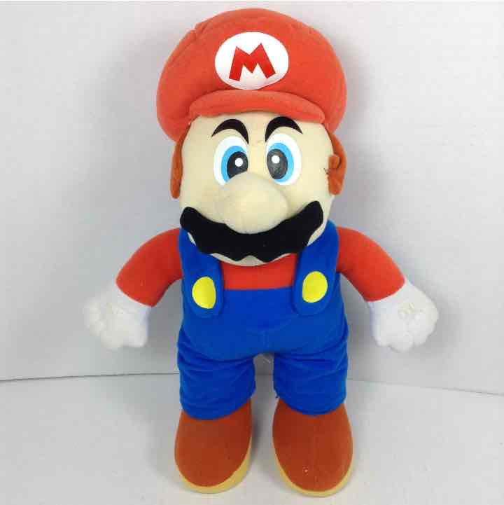 "Mario Kellytoy 2003 Nintendo Gamecube 15"" Plush Stuffed Doll"
