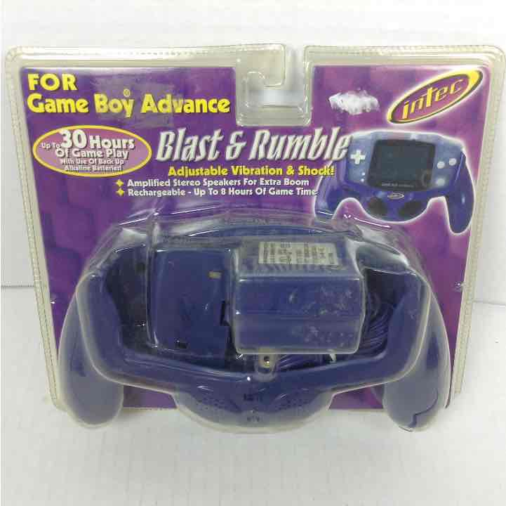New Intec Game boy Advance Blast & Rumble Pack