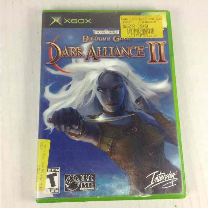 Baldur's Gate: Dark Alliance II (Microsoft Xbox, 2004) NO DISC