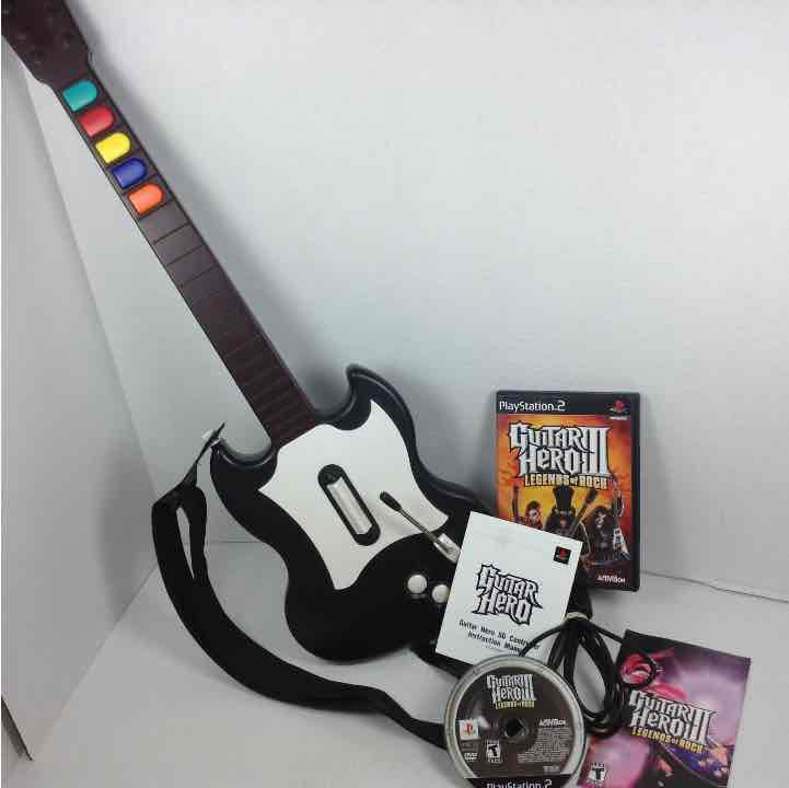 RedOctane Guitar Hero PSLHG Sony Playstation 2 Controller & Game