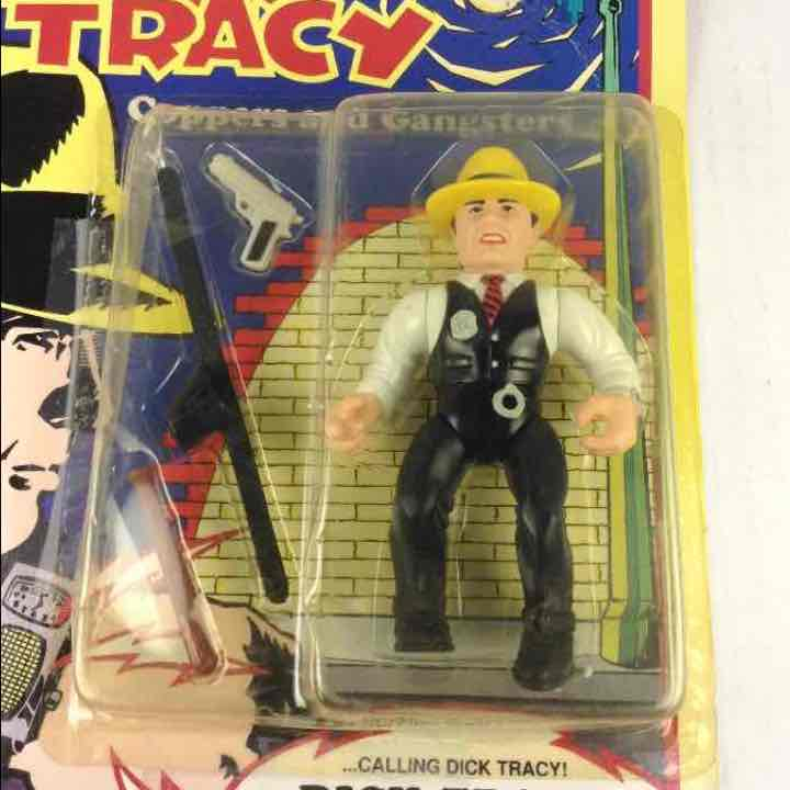 New Dick Tracy Coppers and Gangsters DICK TRACY Disney Playmates 1990 Action Figure