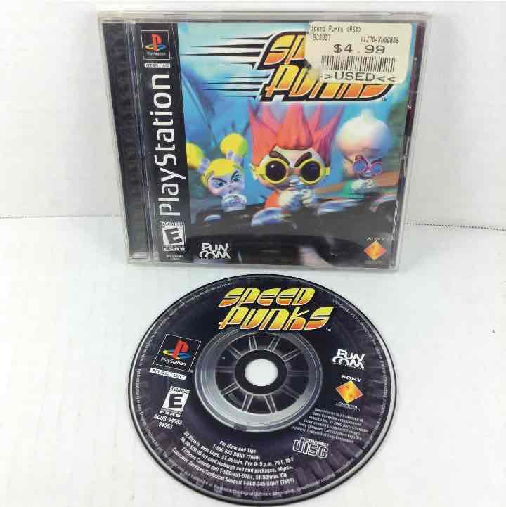 Speed Punks Sony Playstation 1 PS1 *Complete*