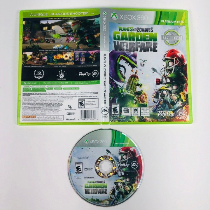Plants Vs Zombies Garden Warfare Platinum Hits Microsoft Xbox 360