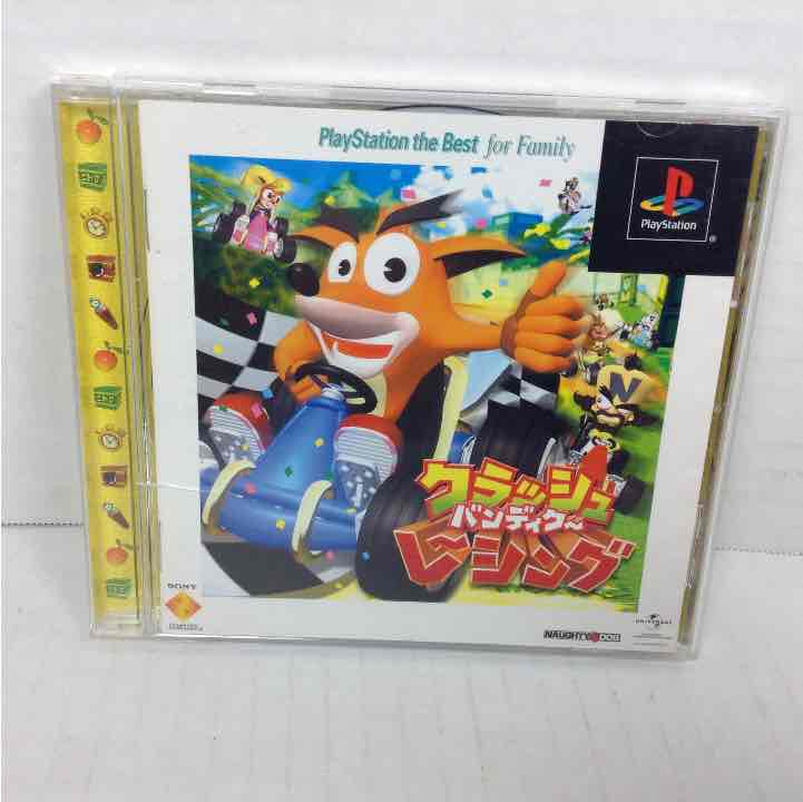 Crash Bandicoot Racing Sony Playstation 1 PS1  Japan Import