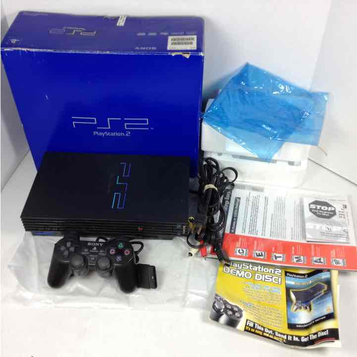 Sony Playstation 2 PS2 Console Bundle Original Box + More