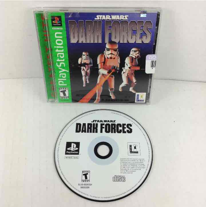 Star Wars Dark Forces PlayStation 1 PS1