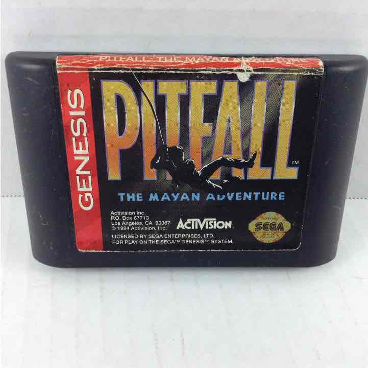 Pitfall the Mayan Adventure Sega Genesis