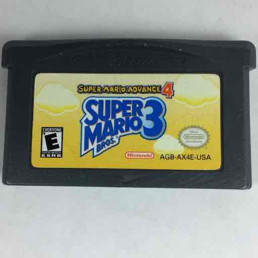 Super Mario Advance 4: Super Mario Bros. 3 Nintendo Game Boy Advance GBA