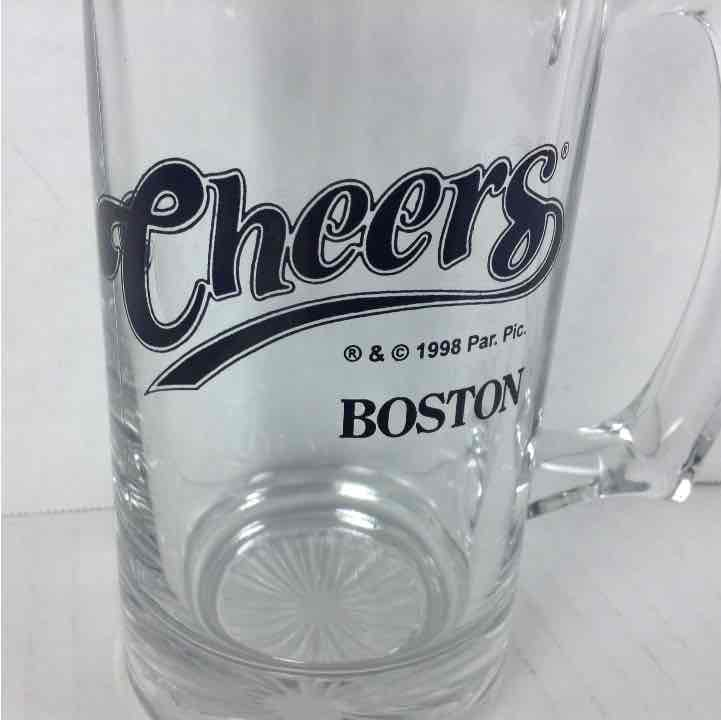 "Cheers Boston Beer Glass 5.5"" tall Paramount Pictures 1998 Mug"