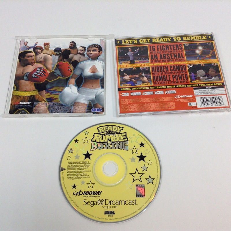 READY 2 RUMBLE BOXING •Sega Dreamcast• Complete