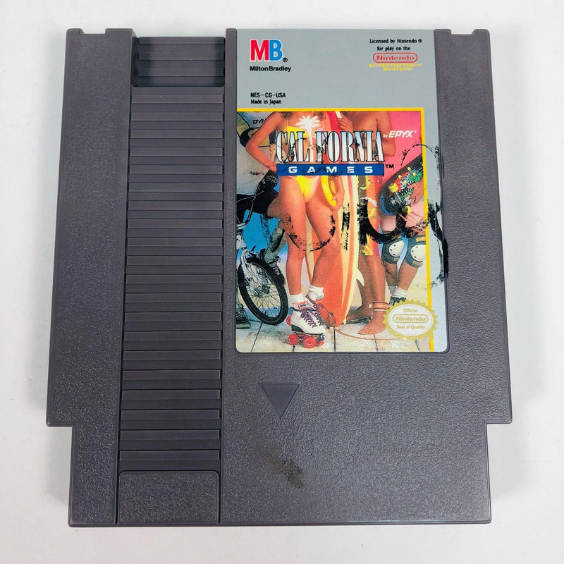 California Games Nintendo NES