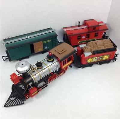Bright Light Union Battery Powered 4 Pc Train Set