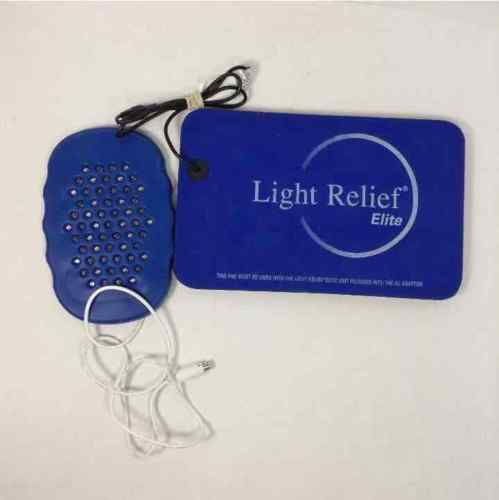 Light Relief Elite LR200 Infrared Pain Therapy Device & Pads UNTESTED