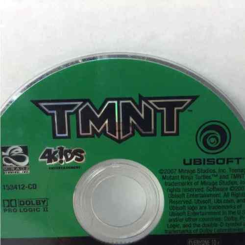 Teenage Mutant Ninja Turtles TMNT Nintendo GameCube