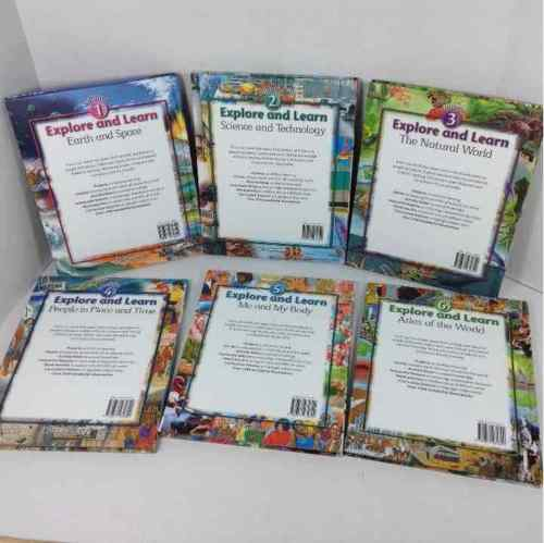 Southwestern Explore and Learn Volumes 1-6 Study Books