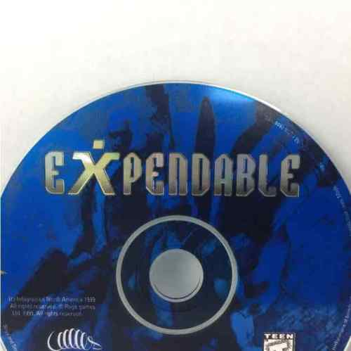 Expendable Sega Dreamcast Disc Only