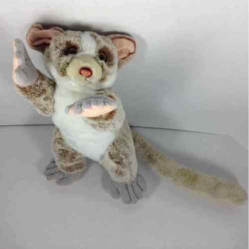 "Fiesta Lazy Beans 15"" Boggie Lay Down Bush Baby Plush Stuffed Toy #A20656"