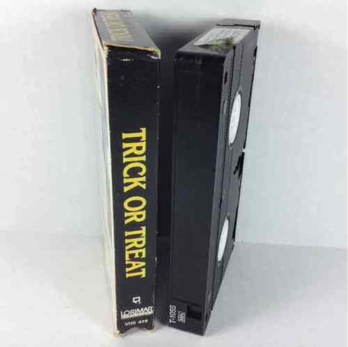 Trick or Treat 1987 Rock & Roll Horror Lorimar Home Video 416 VHS Tape