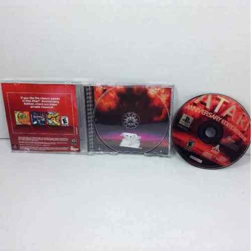 Atari Anniversary Edition Redux Sony Playstation 1 PS1 Complete