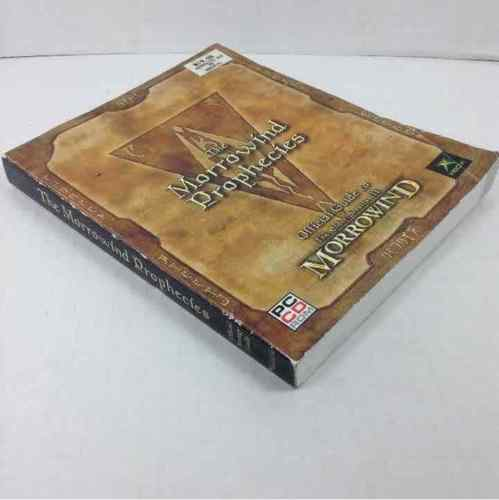 The Elder Scrolls III: The Morrowind Prophecies Xbox Official Strategy Guide