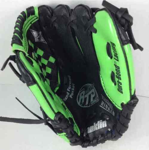 "Franklin RTP Series Youth Green 9"" Right Handers Baseball Glove 4612"
