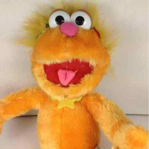 "New Sesame Street Zoe Nanco 2003 15"" Plush Stuffed Doll"
