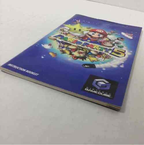 Mario Party 5 Nintendo Gamecube Manual ONLY