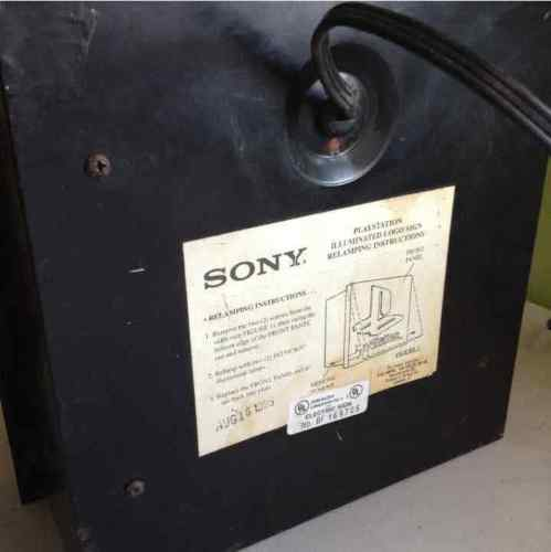 Sony PlayStation 1995 Light-Up Sign BF 169705