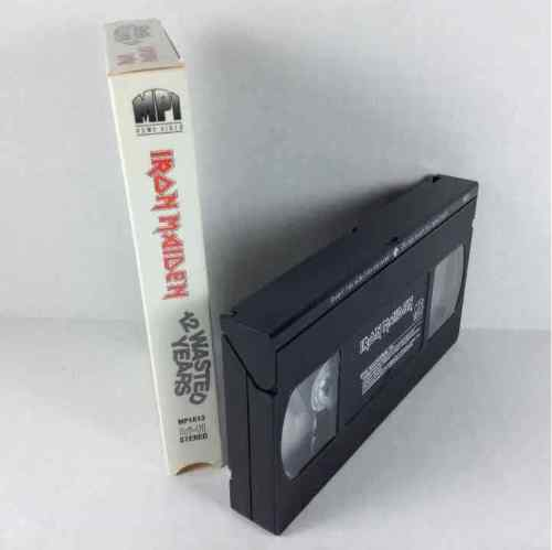 Iron Maiden 12 Years Wasted 1987 MPI Heavy Metal MP1613 VHS Video Tape