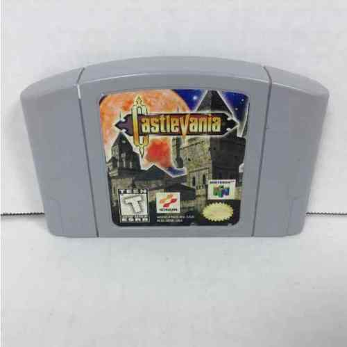 Castlevania (Nintendo 64, 1999) Cleaned / Tested / Authentic / Cartridge Only
