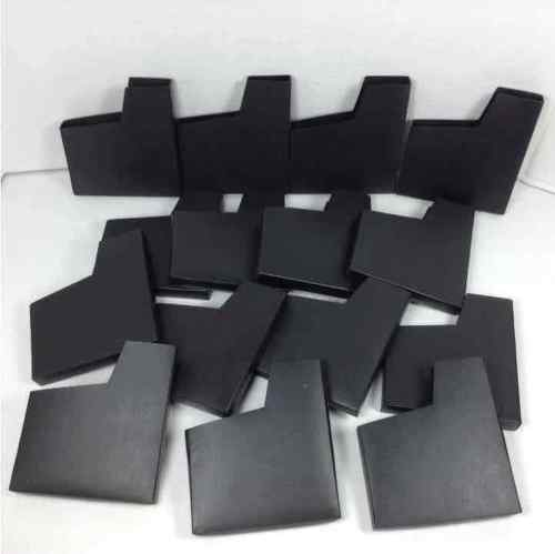 15 Pc NES Protective Black Dust Cover Sleeve for Nintendo Entertainment System Game Cartridges