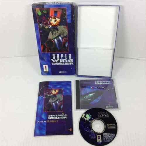 Super Wing Commander Panasonic 3DO Complete