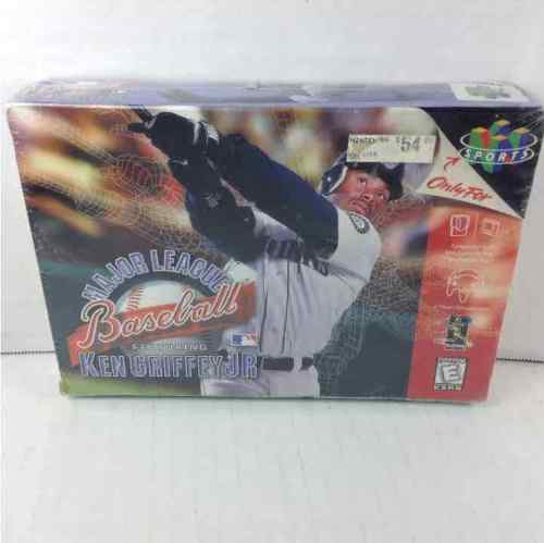 New Sealed Major League Baseball Ken Griffey Jr Nintendo 64 N64