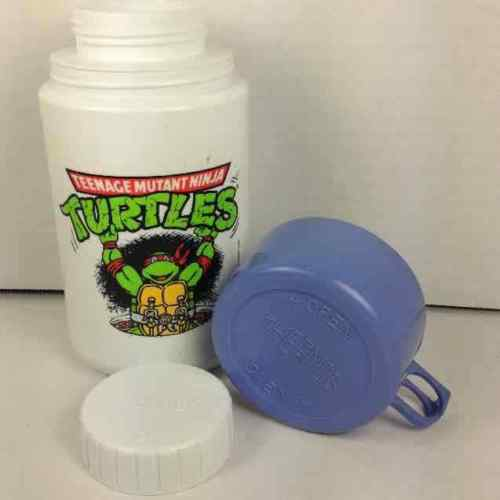 1990 Teenage Mutant Ninja Turtles TMNT Thermos