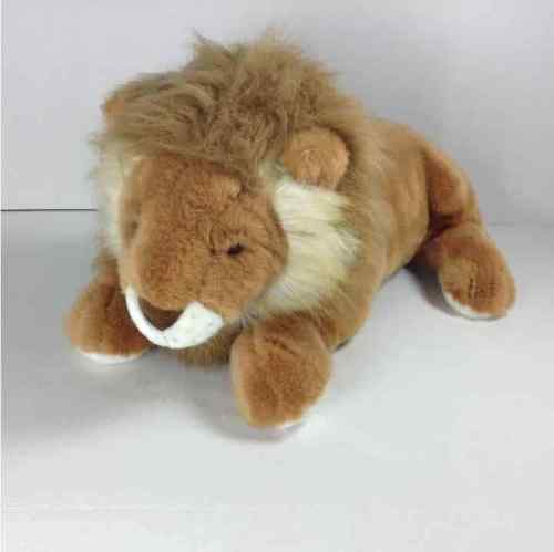 "Floppy Friends Lion Plush Stuffed Animal Toy 25"" w/o Tail"