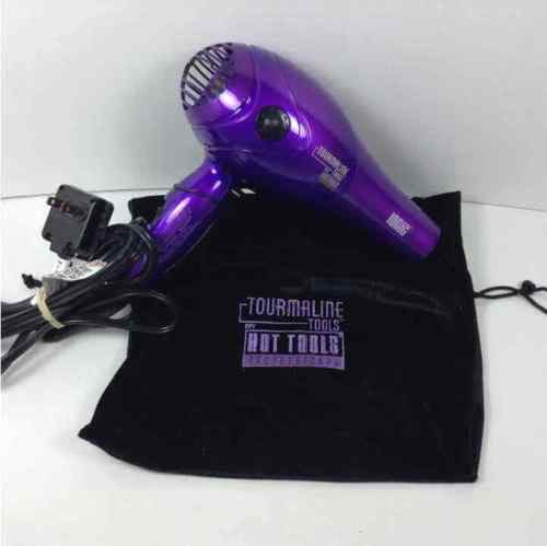 Hot Tools Professional Tourmaline Hair Blow Dryer W/ Carry Bag