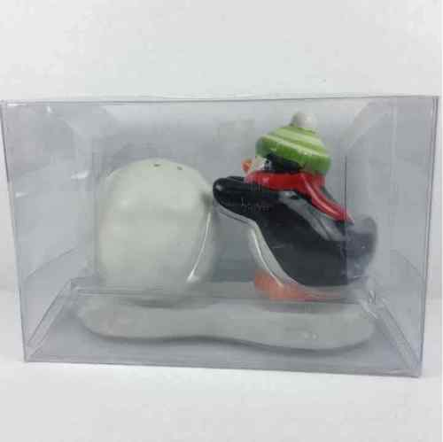 Superior New Hallmark Penguin U0026 Snowball Salt U0026 Pepper Shakers ...