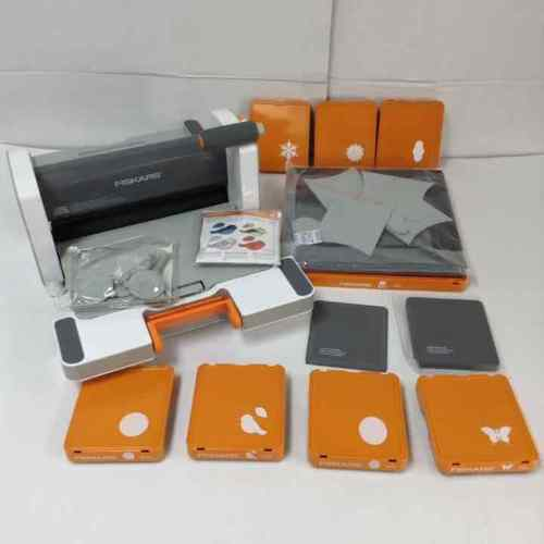 Fiskars Fuse Creativity System Die Cut & Letterpress Lot
