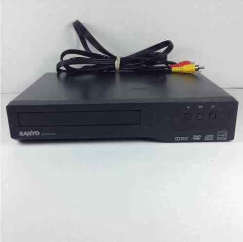 Sanyo DVD / CD Player Model FWDP105F + Video Cords NO Remote