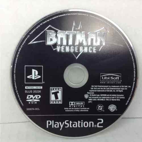 Batman Vengeance Sony Playstation 2 (PS2)