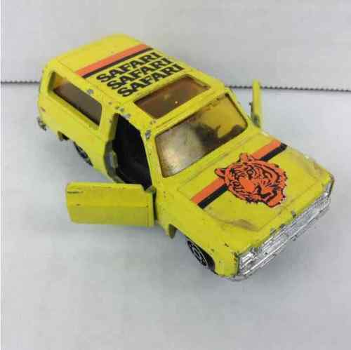 Yatming Blazer #1064 Yellow Safari Truck