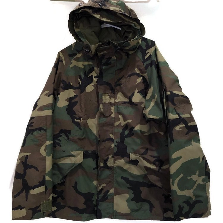 Tennessee Apparel Military Cold Weather Camouflage Adult Large Parka Coat