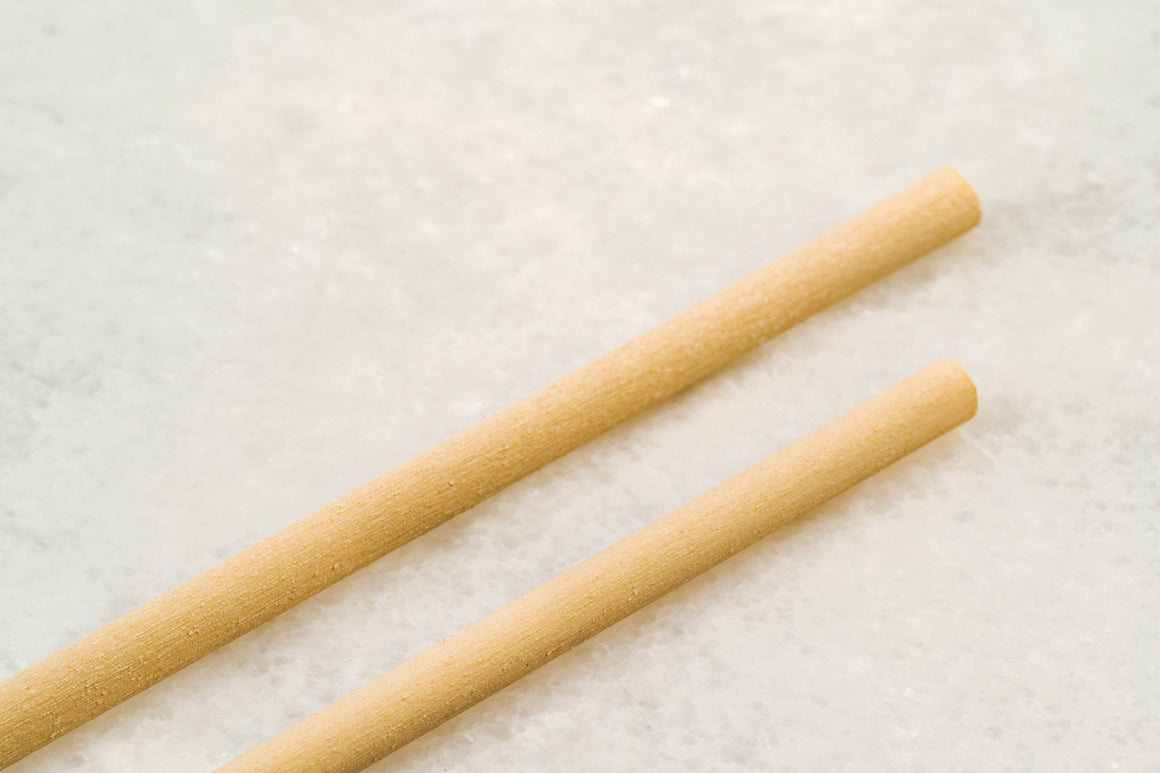 6mm Regular Cropmade Bamboo Fiber Straw - PACK (250 pcs, Unwrapped)