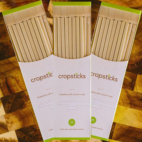 Cropsticks Eco-friendly Bamboo Multi-Packs of Chopsticks