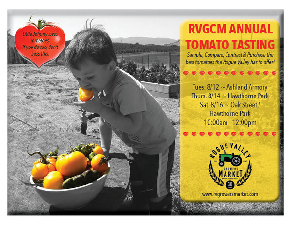 The Great Tomato Tasting!