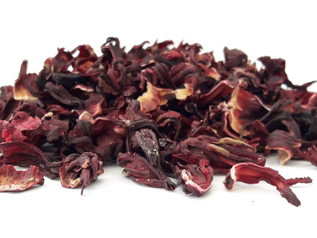 Hibiscus tea dried flowers dgstoreuk hibiscus tea dried hibiscus flowers tea making natural tea izmirmasajfo Images