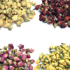 Dried Rose Buds - Mix Pack,Dried Flowers,DGStoreUK